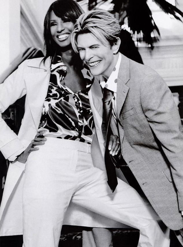 9. Иман и Дэвид – одна из немногих голливудских пар, отношения которых продлились так долго.