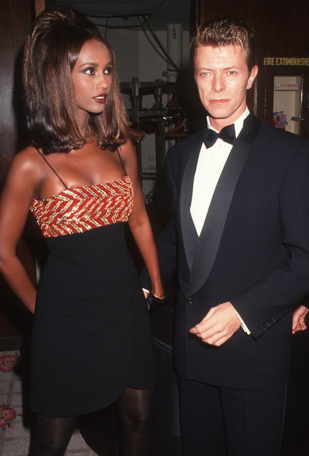 8. Дэвид Боуи был женат на модели Иман Абдулмаджид.