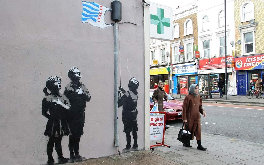 5. Много работ художника можно увидеть в Лондоне.