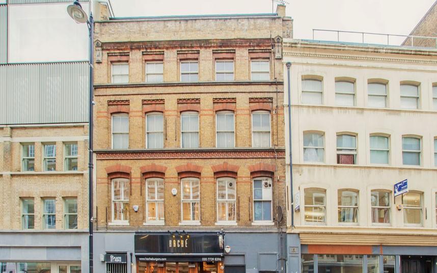 8. Shoreditch, Лондон.