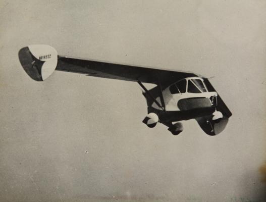 4. Аэромобиль Уотермана, 1937 год.