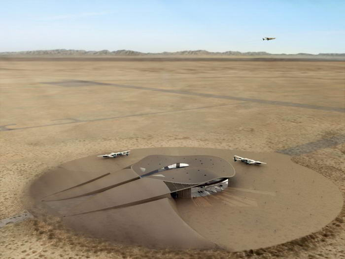 1. Космопорт Америка - Нью-Мексико.