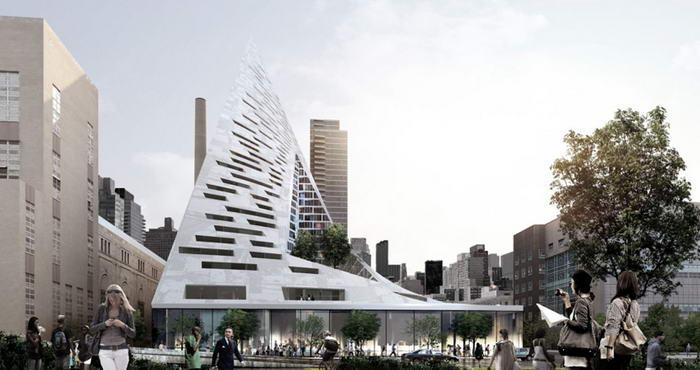 10. Пирамида W57 - Нью-Йорк.
