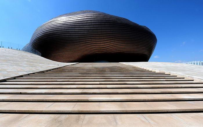 9. Музей Ордоса – Китай.