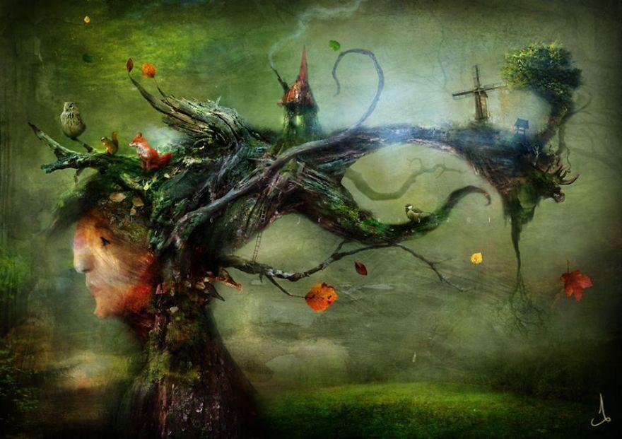 15. Живое дерево.