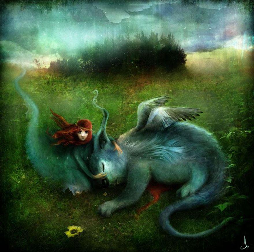 2. Спи, мой таинственный зверь.