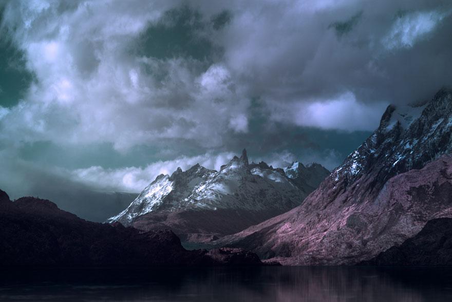 7. Посещая самые отдаленные земли чилийской Патагонии, фотограф делал свои великолепные снимки.