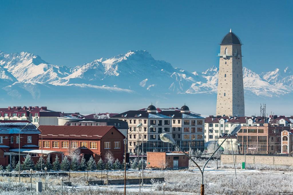 1. Магас, столица Республики Ингушетия.