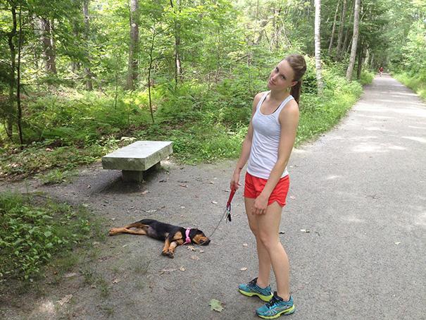 11. Прогулки со щенком – это очень весело. Так говорят.