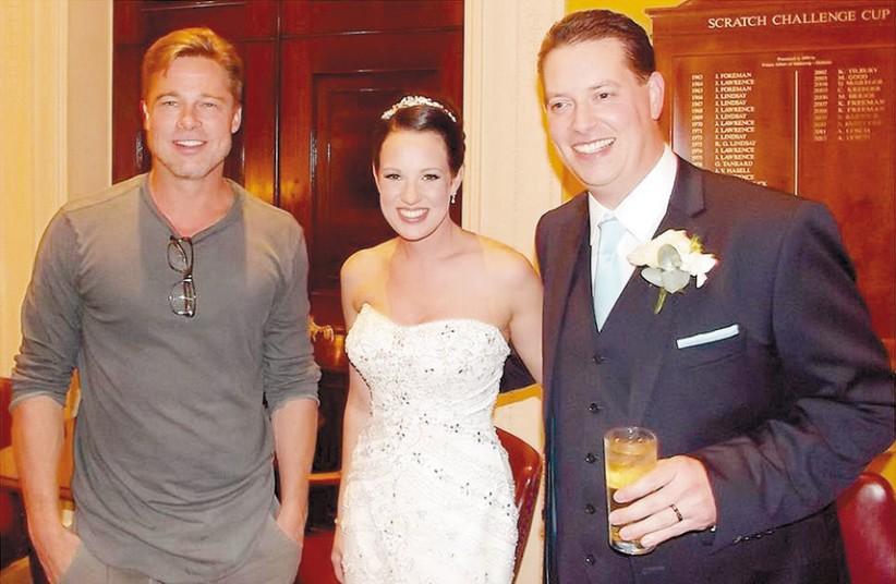 Знаменитости, случайно попавшие на чужую свадьбу.