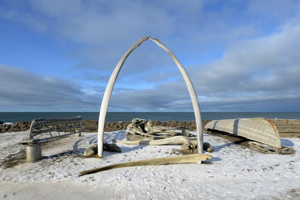 1. Эта арка из китовых костей является достопримечательностью города.