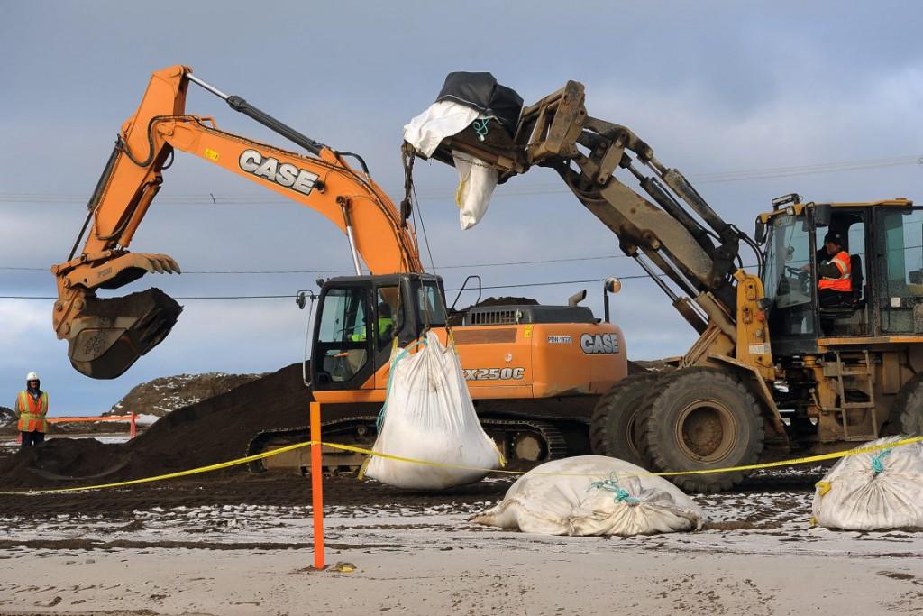 13. Мешки с песком – важная часть берегозащиты пляжей и борьбы с эрозией.