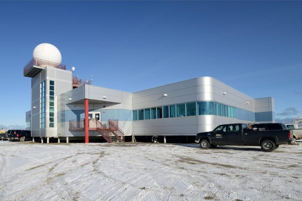 2. Арктический научный центр в Барроу.