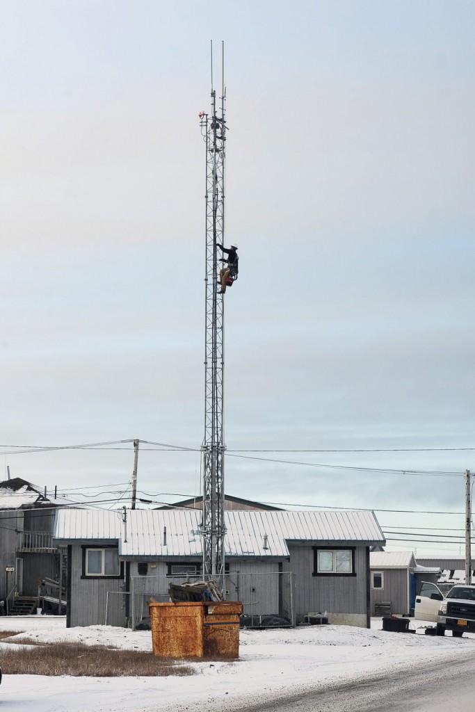 8. Со связью в Барроу проблем нет. Все вышки регулярно обслуживаются.