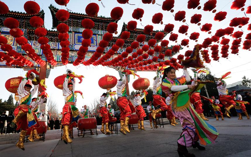 3. Праздничное шествие в Пекине.