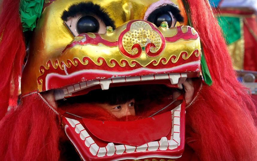 4. Традиционный танец льва.