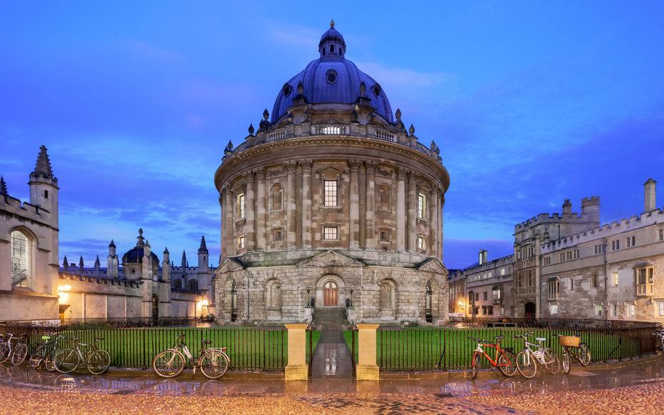 6. Посетить Оксфорд.