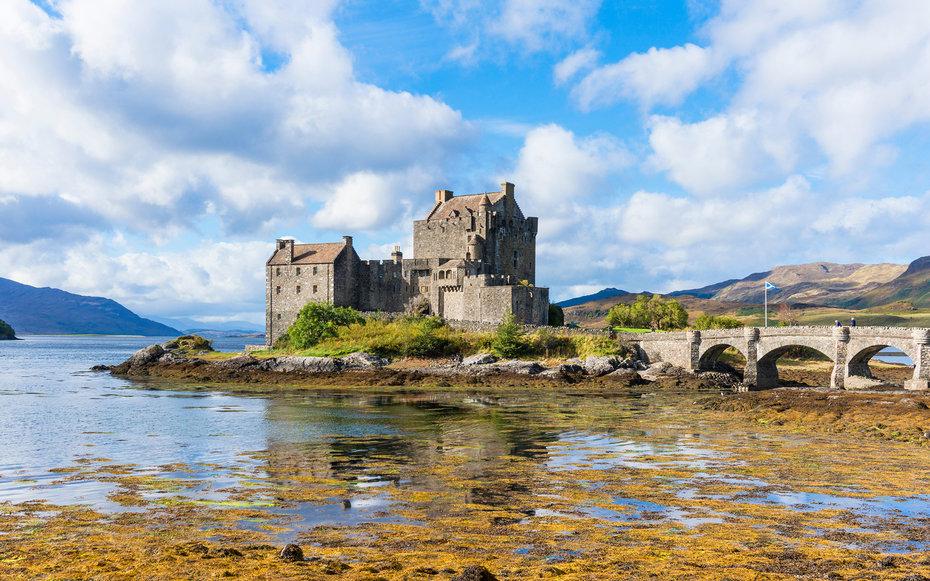 5. Храбрая сердцем - замок Эйлен-Донан, Шотландия.