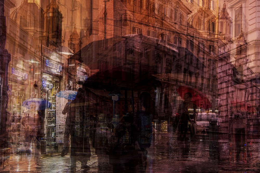 22. Дождливый день, Рим.