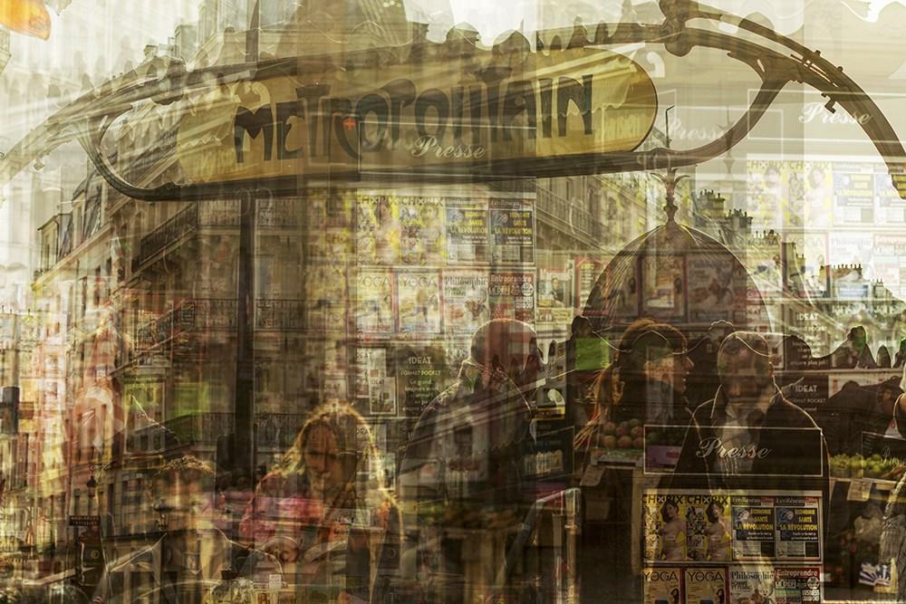 29. Метрополитен, Париж.