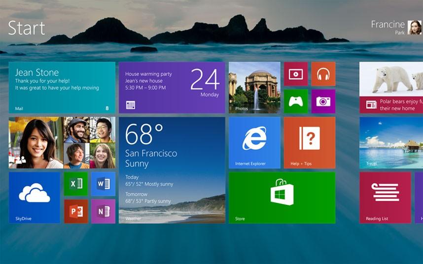 11. Windows 8 была выпущена в 2012 году. Версия стала самой большой реконструкцией операционной системы с момента выхода Windows 95. Впервые был использован интерфейс «Метро», присутствующий также в Windows Phone. Операционная система подверглась критике из-за отсутствия кнопки пуск.
