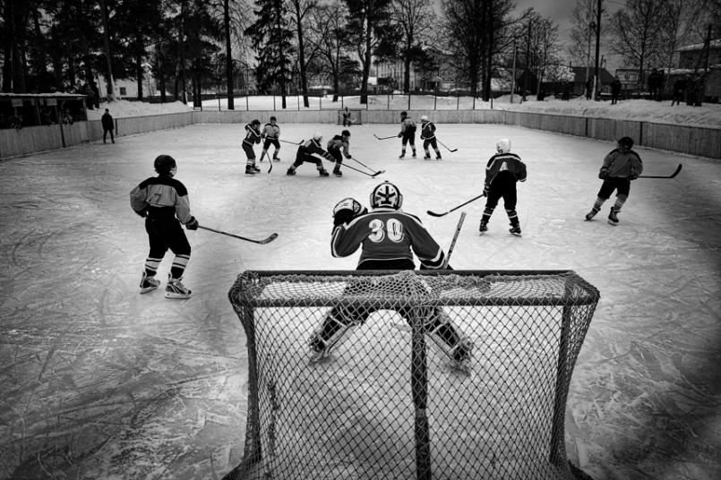 7. Категория «Спортивные новости». Хоккей в Ветлуге. Фото: Владимир Песня.