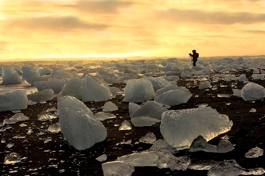 7. Йёкюльсаурлоун, Исландия.