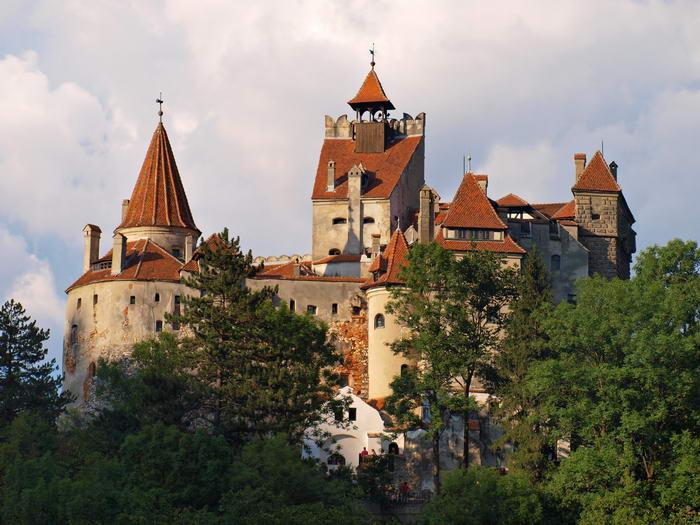6. Замок Бран, Румыния.