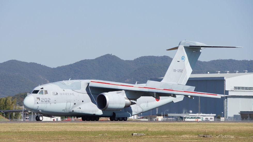 11. Kawasaki C-2.