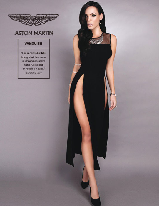 10. Aston Martin Vanquish.