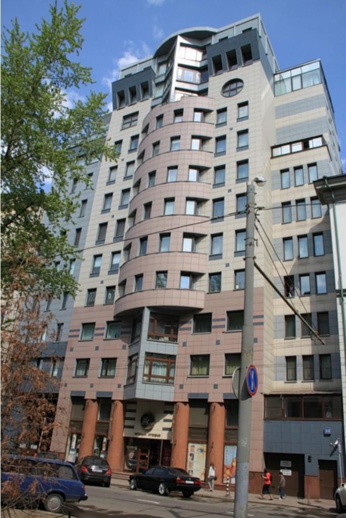 3. В этом доме на 4-й Тверской-Ямской проживает Ксения Собчак.