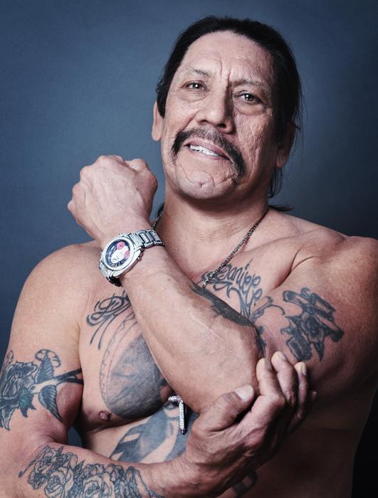 17. Дэнни Трехо, известный как Мачете отсидел 11 лет за наркотики и ограбление.