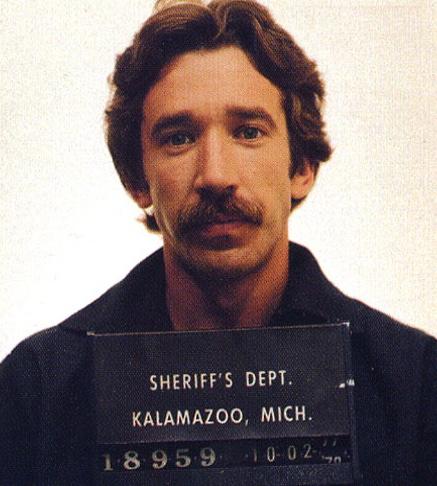 6. Тим Аллен отсидел в тюрьме два года за хранение и продажу наркотиков.