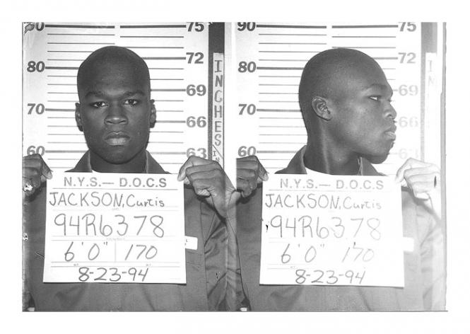 7. 50 Cent. Фифти был приговорен к шести месяцам лишения свободы за хранение наркотиков и оружия.