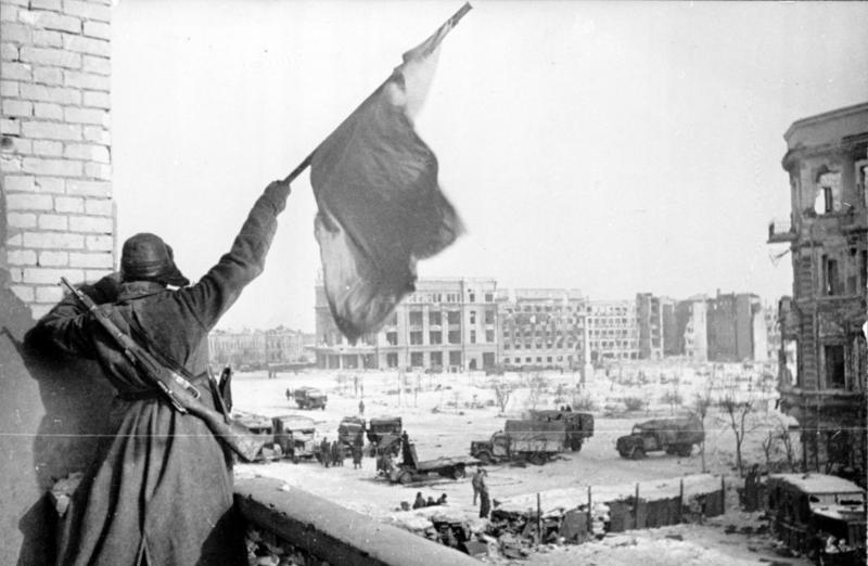 1. День победы в Сталинградской битве 2016.