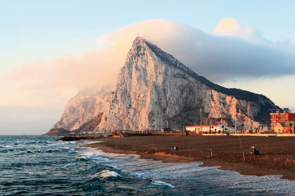 1. Гибралтарская скала.