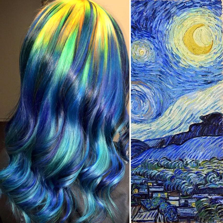 1. «Звездная ночь», Винсент Ван Гог.