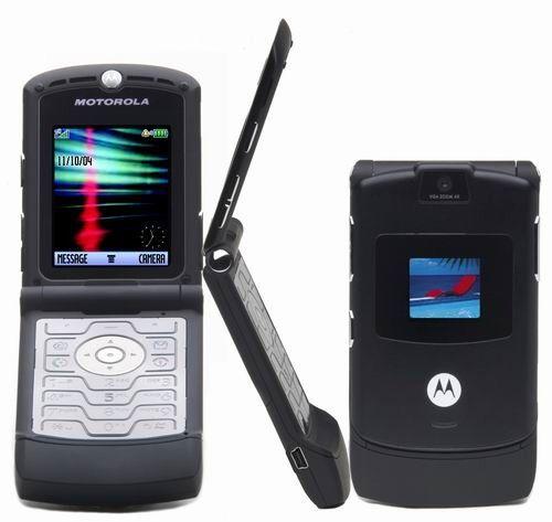 11. RAZR V3 Motorola – самая продаваемая в мире раскладушка.