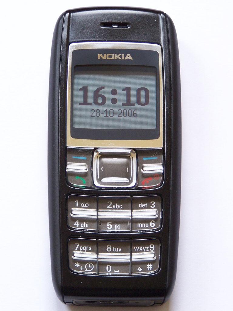 12. Простой, но выносливый Nokia 1600. Был выпущен для рынка Индии и Китая.