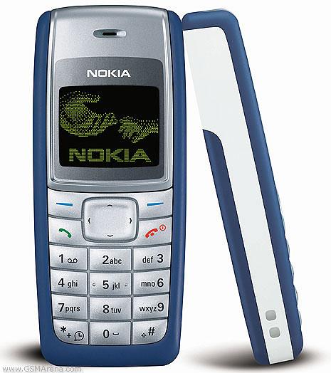 19. Nokia 1110 – популярный телефон 2005 года.