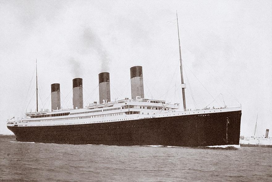 17. Оригинальный Титаник.