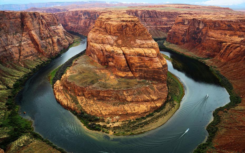 19. «Фортуна», Подкова Колорадо, Аризона, США.