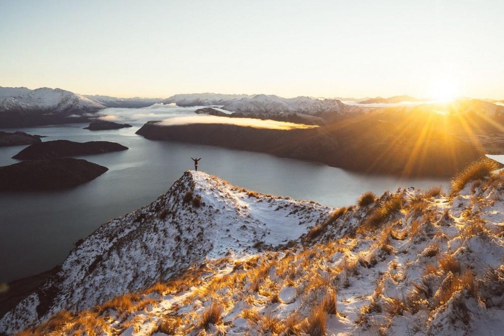 10. Гора Роис-Пик, озеро Ванака.