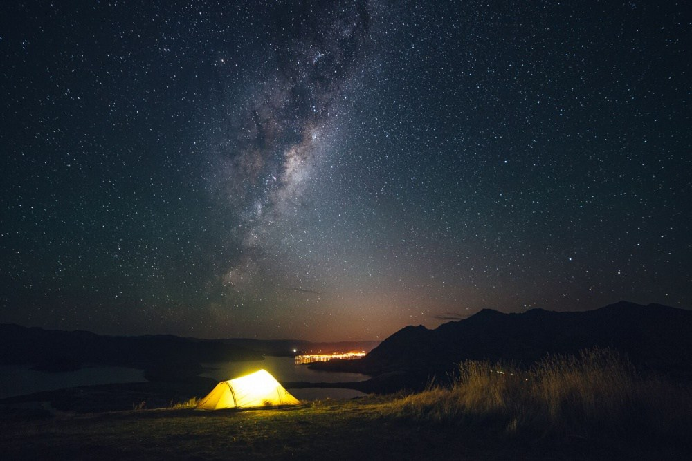 15. Ночь на озере Ванака.