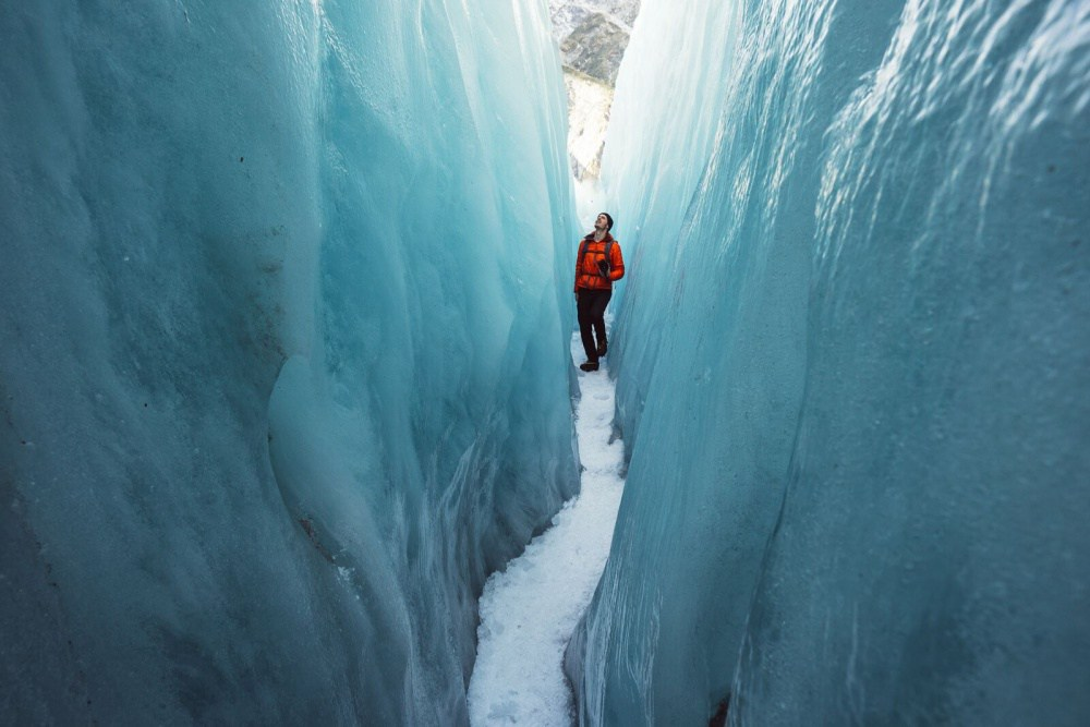 9. Ледник Франца-Иосифа, национальный парк «Вестленд Таи Поутини».