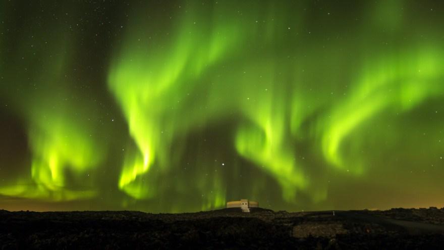 12. Северное сияние, Норвегия.