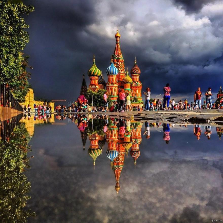 15. Храм Василия Блаженного, Москва.