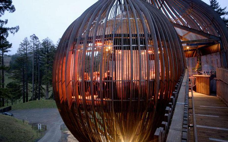 8. Ресторан Redwoods Treehouse, Новая Зеландия.