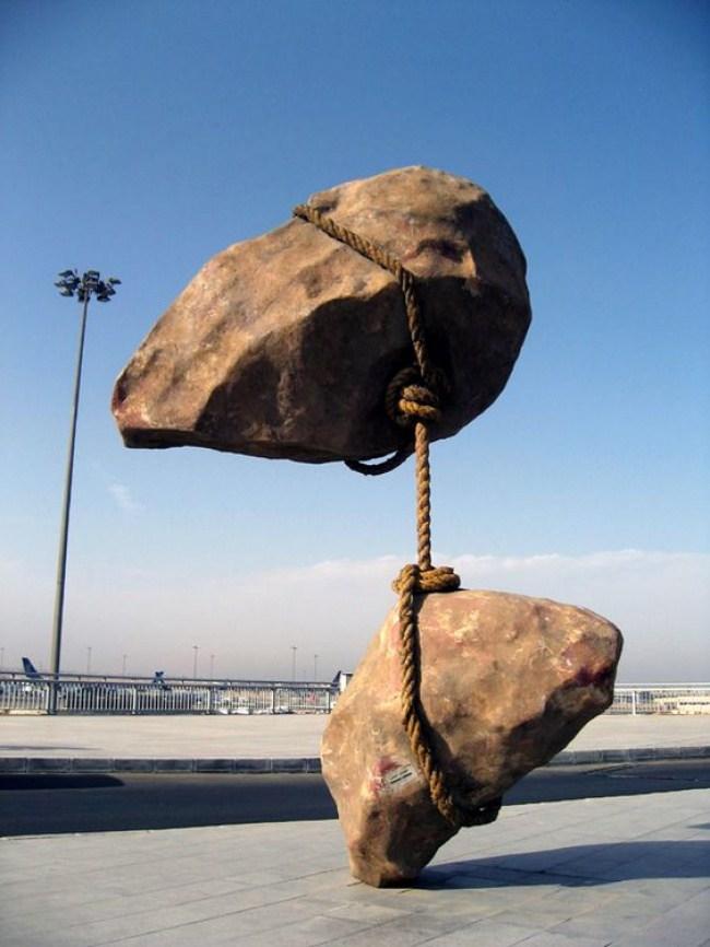 13. Летающий камень, Египет.