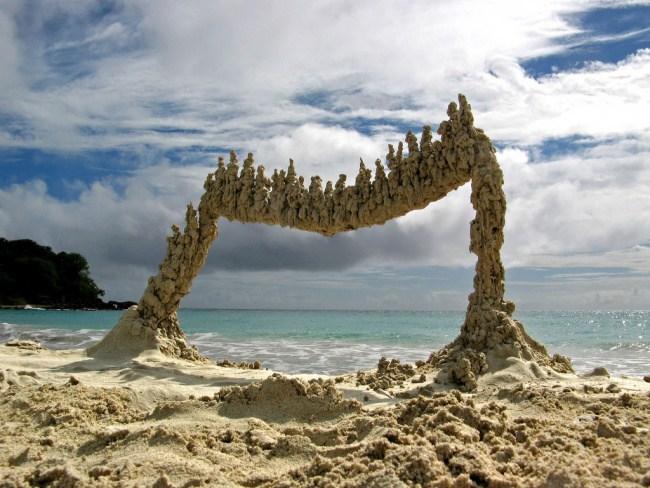 20. Песочные скульптуры, Пуэрто-Рико.